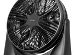 Ventiliatorius MPM 18, 3 greičio nustatymai, 360 kampo pasisukimas, juodos spalvos