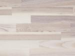 Parketlentė FOCUS FLOOR Mistral, 2266 x 188 x 14 mm, 3,410 m2/dėž., 3 juostos, uosis, baltas matinis lakas