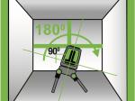 Lazerinis matuoklis KAPRO 28-872G,  Prolaser plus, žaliu spinduliu