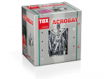 GKP inkarinis varžtas TOX, metal. , Acrobat M5/52, 50 vnt.