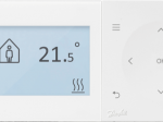 Belaidis patalpos termostatas, dujiniam katilui, DANFOSS TPOne-RF, programuojamas, 087N7854